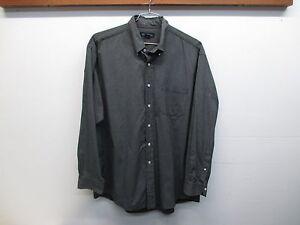 Brooks Brothers Long Sleeve Black/White Checkered Button Up Men's Shirt L EUC