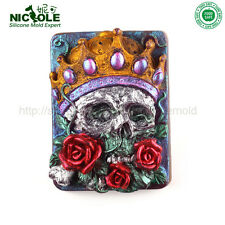 Nicole Silicone Molds For Soap Easy Unmold Handmade Skelet Crafts  Molds
