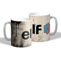 Elf Oil Mug Oil Can Effect Vintage Car Motorbike Mechanic Tea Coffee Mug Gift