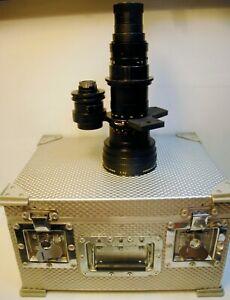 Objectif ANGENIEUX Paris -ZOOM ..F 25 / 250 mm -1:3.7 -N°1302821-Mount CAMEFLEX