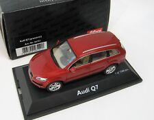 Audi Q7 granat red 1/43 SCHUCO Rare!