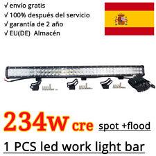 234W cree combo spot flood LED barra de luz,Faro de trabajo,ATV Jeep SUV 12V 24V