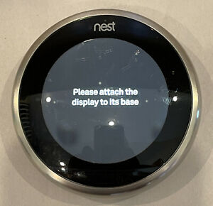 Nest 3rd Generation Programmable Thermostat A0013 (NO BASE) Unit Only-READ-FAST!
