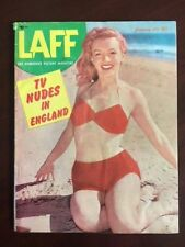 "1953, Marilyn Monroe, ""LAFF"" Magazine (No Label) Scarce"