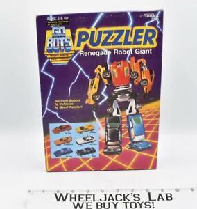 Puzzler Renegade Robot Giant MIB 1985 Gobots Tonka Vintage Action Figure