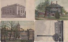 Marshalltown, Iowa Four (4) Early Postcards