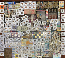 Huge Lot 500+ Coins/Stamp~Silver Note/PCGS/Mercury/IKE/Buffalo/Indian/WL/Proof$+