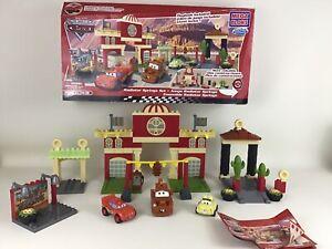 Disney Cars Radiator Springs Mega Bloks 7796 Building Toy 100% Complete Duplo sz