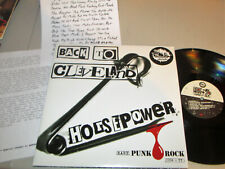 """Back to Cleveland-Horsepower"" 2015 V/A PUNK HARDCORE GARAGE Ltd. Ed. 2LP NM!"