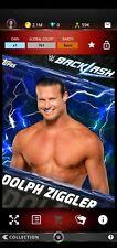 Topps WWE SLAM Digital 2017 Backlash Blue Base Dolph Ziggler 761CC