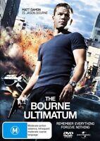 The Bourne Ultimatum - Matt Damon - DVD R4 VGC  - #494
