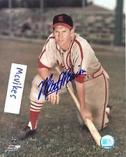 Marty Marion St Louis Cardinals Autographed Signed 8x10 Photo COA DECEASED