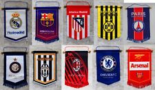 soccer football club team large hang flag decor fans european american au tw