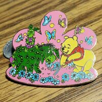 DLR Topiary Winnie the Pooh with Eeyore and Piglet Surprise Disney Pin LE 750