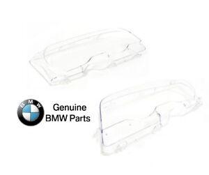 For BMW E46 323Ci 325Ci 330Ci M3 Headlight Lens For Xenon Lights Left+Right Side