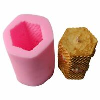3D Honeycomb Silicone Aroma Candle Mold DIY Soap Clay Making Cake Chocolate Tool