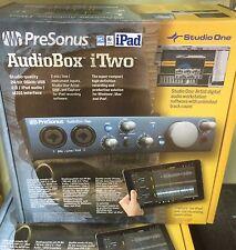 New PreSonus AudioBox iTwo 2x2 USB iPad/Mac/PC Interface includes Studio1 Artist