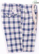 Abercrombie & Fitch Cuadros Sarga de Algodón Corchetes Elástico Pantalones