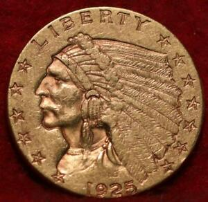 1925-D Denver Mint $2.50 Gold Coin