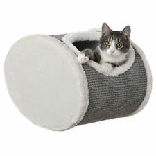 Wall-mounted Cat Den Plush Kitten Bed Sisal Scratching Post Free Delivery