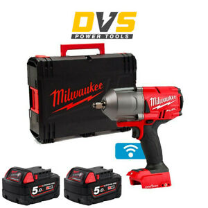 Milwaukee M18ONEFHIWF12-0 18v 1/2in FUEL ONE-KEY Impact Wrench Friction Ring 5Ah