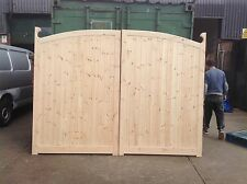 driveway gates 6ft x 8 ft wide vicarage arch top gates