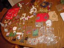 Christmas Bells Santa Pewter Glass Brass & More