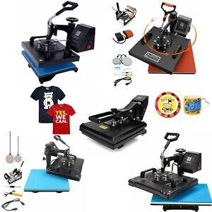 Hitzepresse Maschine Transfer T-Shirt Becher Transferpresse Textildruck