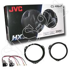 JVC 4-Wege Lautsprecher Opel Astra F+G Omega B Lautsprecherringe + Adapter Set