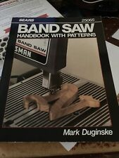 New ListingSears Band Saw Handbook with Patterns by Mark Duginske 25065