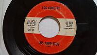 LOS COMETAS - Los Arbolitos / Herrante Ramera 60's LATIN RANCHERA Buena Suerte