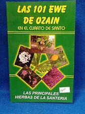 Libro Las 101 Ewe de Ozain  Osain Yoruba y Cubana de la religion yoruba ifa