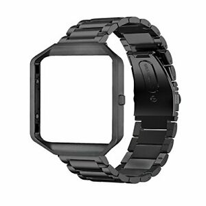 Oitom Metal Bands Compatible with Fitbit Blaze Large,Frame Housing+Stainless