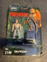 NEW Mega Construx Predator Dutch Wave 2  Figure Black Series 21 pc Bow Arrow