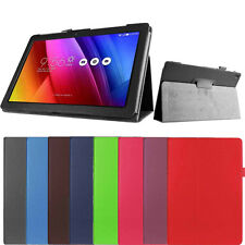 Luxury Flip Faux Leather Stand Prop Case Cover Skin For Asus Zenpad 10 Z300C