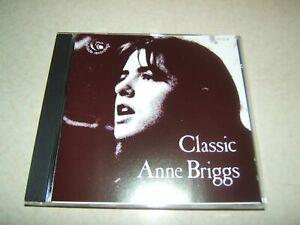 CLASSIC ANNE BRIGGS : COMPLETE TOPIC RECORDINGS    CD ALBUM  1990