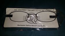 ROCHESTER OPTICAL SIDESTREET BROWN SPECTACLE EYEGLASS FRAME 54-21-135 OPTOMETRY