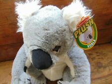 "Melissa & Doug Plush Koala Bear Soft Stuffed Toy Grey White 16"" NWT"