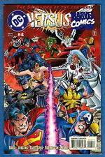 MARVEL VERSUS DC # 4 - Marvel - DC 1996  (fn+)      a