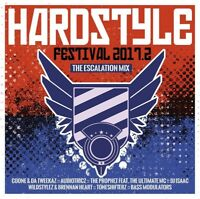 HARDSTYLE FESTIVAL 2017.2-THE ESCALATION MIX  2 CD NEW