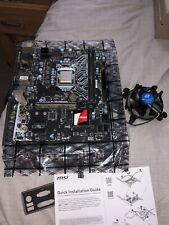 MSI H110M Grenade Micro ATX Motherboard [LGA 1151]  [DDR4] With Intel Processor
