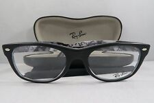 Ray-Ban RB 5184 5405 Matte Black/Logo New Authentic Eyeglasses 52mm w/Case
