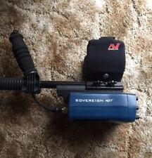 """Minelab Sovereign GT Metal Detector With 10"""" coil"""