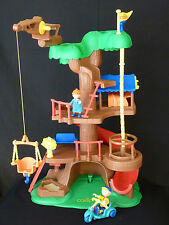 Caillou Tree House w/Rosie Gilbert the Cat Figure & Scooter by Little Tikes