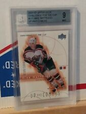2001-02 upper deck challenge for the cup #111 MIKE MATTEUCCI wild rookie BGS 9