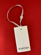 100% AUTHENTIC Brand New RIMOWA Original Cabin Luggage Paper TAG *FREE SHIPPING*