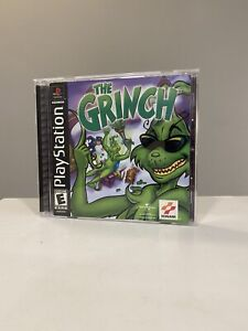 The Grinch (Sony PlayStation 1, 2000) Complete