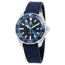Tag Heuer Aquaracer Blue Dial Men's Watch WAY101C.FT6153