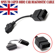 9Pin To 16Pin Female Connector OBD2 Car Diagnostic Cable Adapter For Subaru