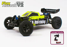 Radio Remote Control Car RC 1/10th Electric Buggy Flux Assault V2 Brushless New